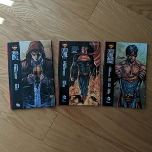 Superman earth one vol 1,2, and 3 DC Comics